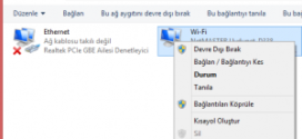 WINDOWS 10 DNS AYARLARI